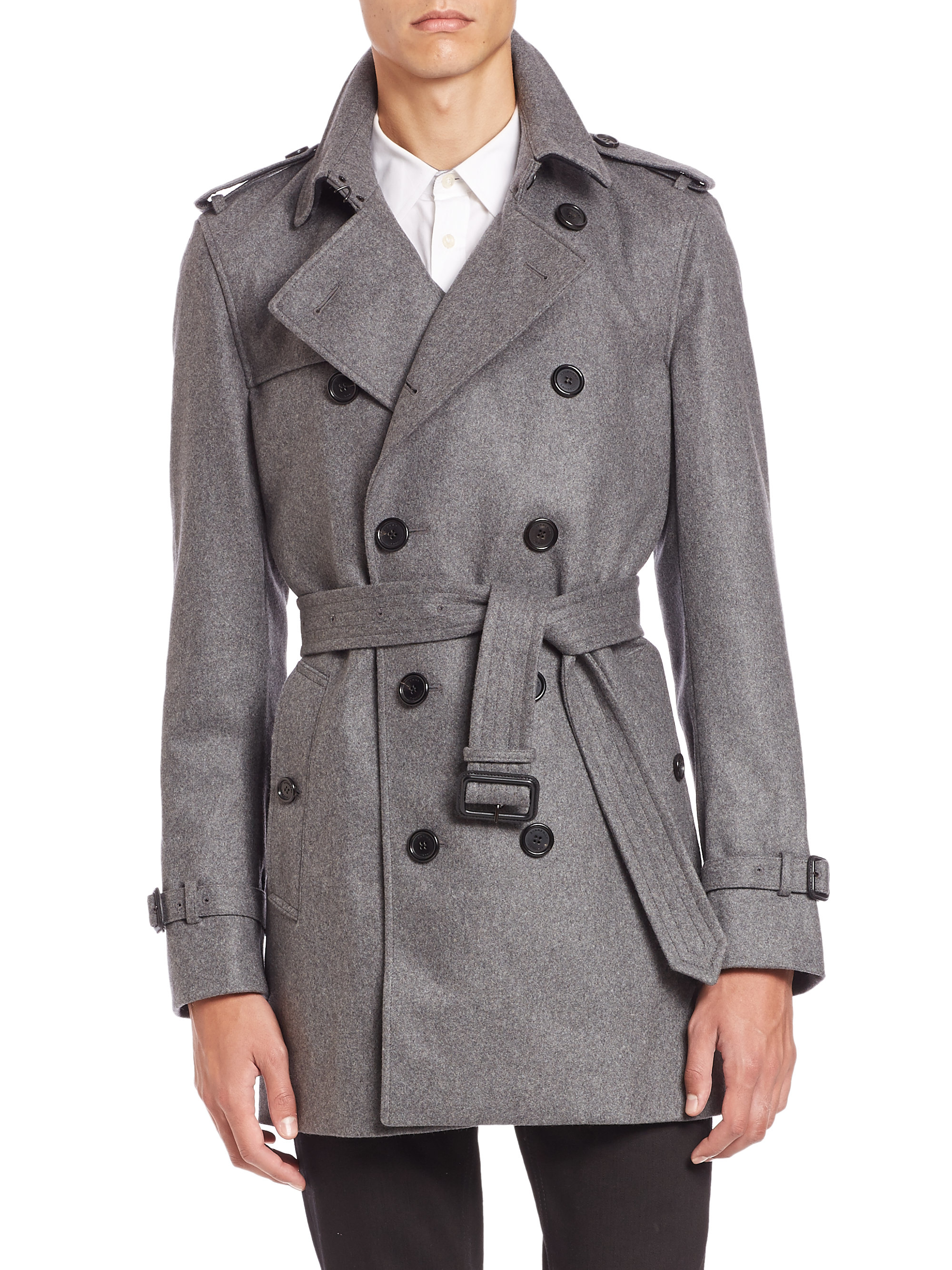 Vintage Gray Men's Trench Coat Gray Double Breasted Trench Coat Men's Classic Men's Coat Large Size VintageSuggestion. 5 out of 5 stars () $ $ $ (10% off Did you scroll all this way to get facts about gray mens trenchcoat? Well you're in luck, because here they come.