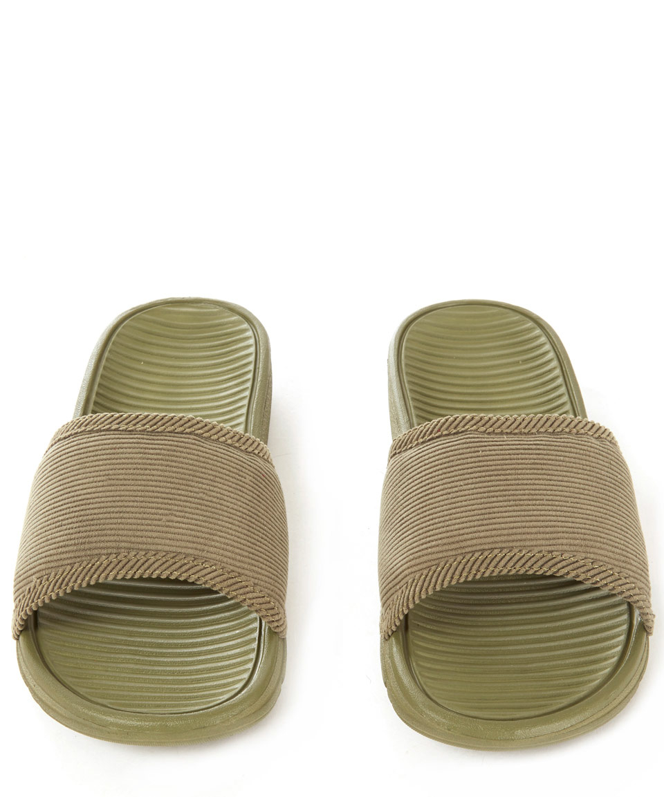 6aeb4cc1030b ... sandals bb1dd 35a5d  canada lyst nike olive benassi solarsoft sp slides  in brown 7cf82 aa37e