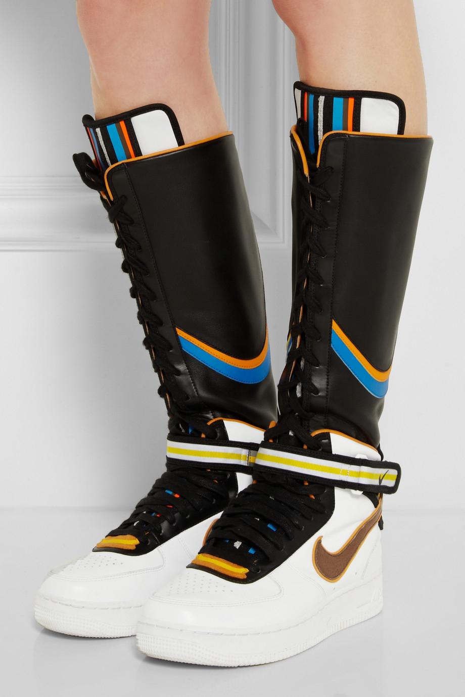 Lyst - Nike + Riccardo Tisci Air Force 1 Leather Hi-Top ...