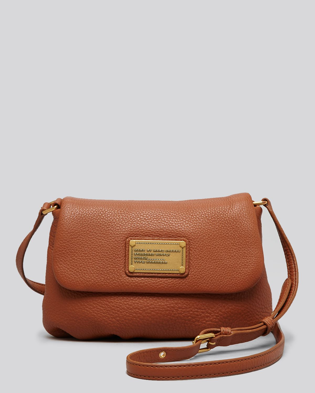 ce5b3595a0e Marc By Marc Jacobs Crossbody Classic Q Flap Percy in Brown - Lyst