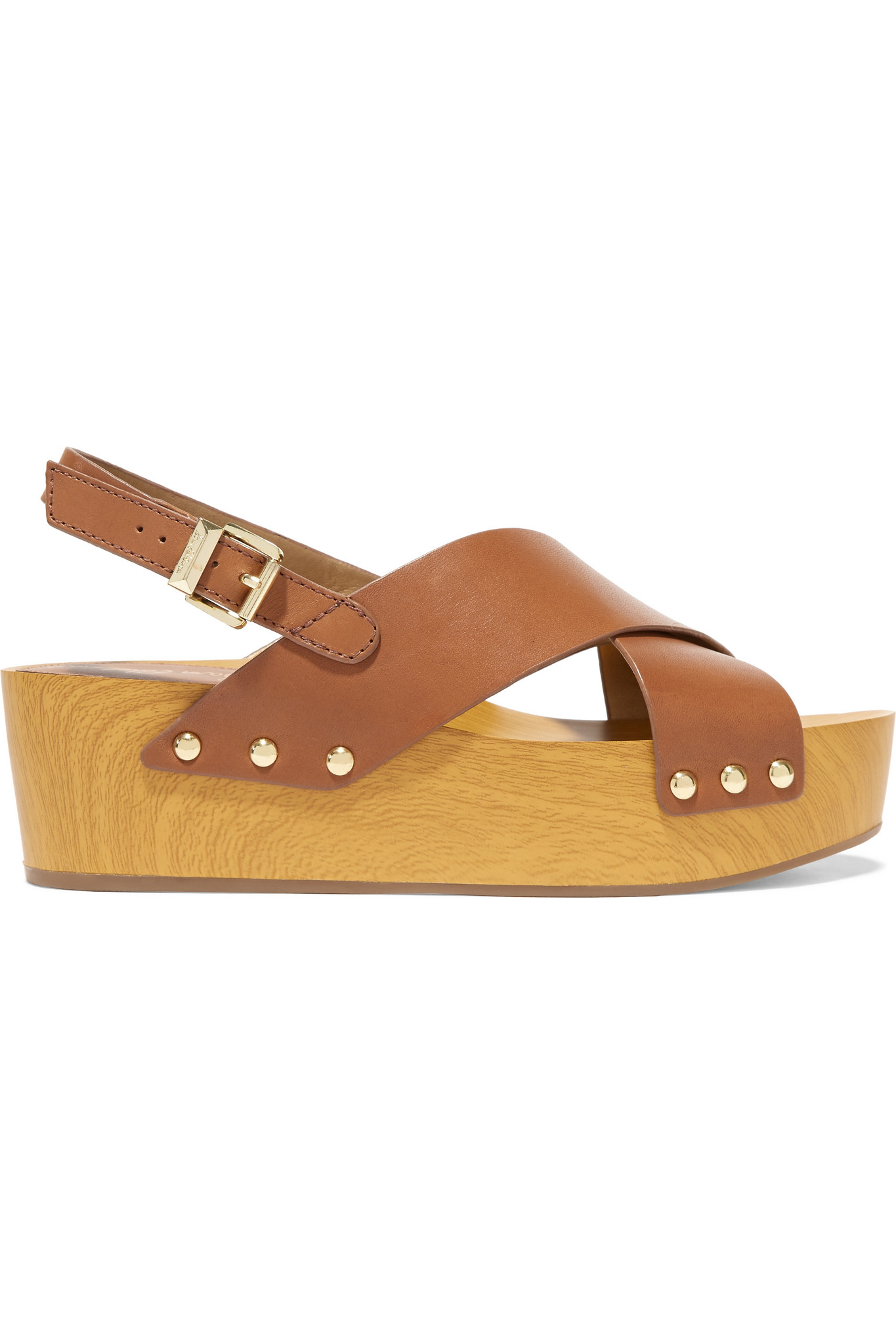 17228b0fe58 Lyst - Sam Edelman Bentlee Leather Platform Sandals in Brown