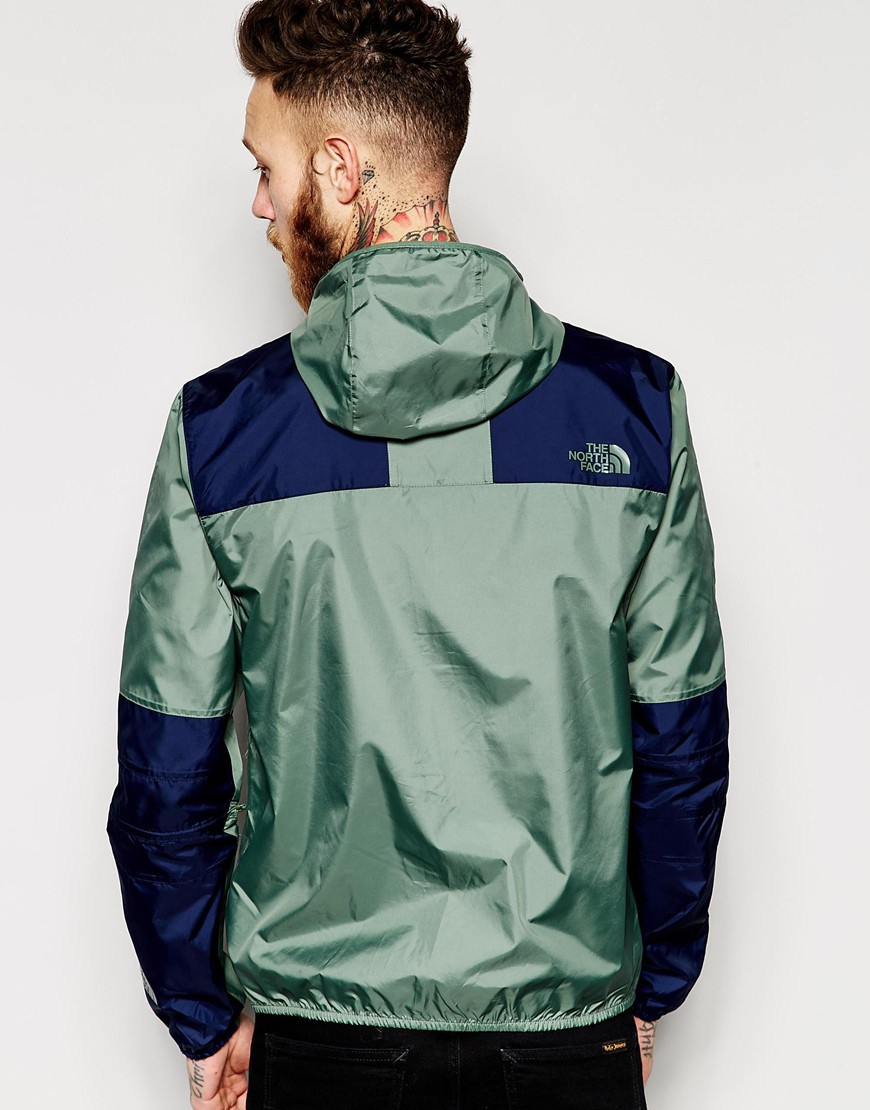 the north face 1985 mountain jacket in green for men lyst. Black Bedroom Furniture Sets. Home Design Ideas
