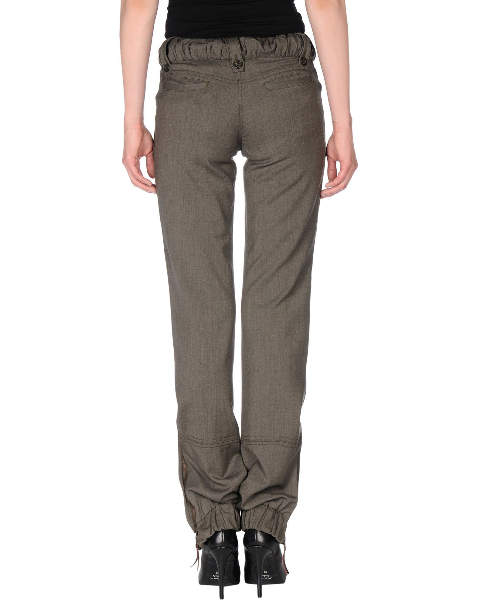 Lyst Moschino Jeans Casual Trouser In Green