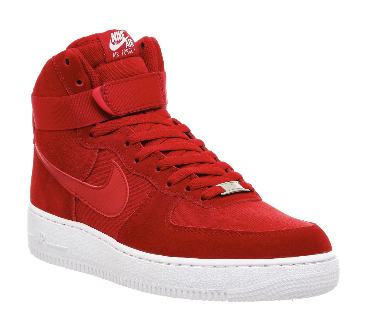 nike air force 1 hi in red lyst. Black Bedroom Furniture Sets. Home Design Ideas