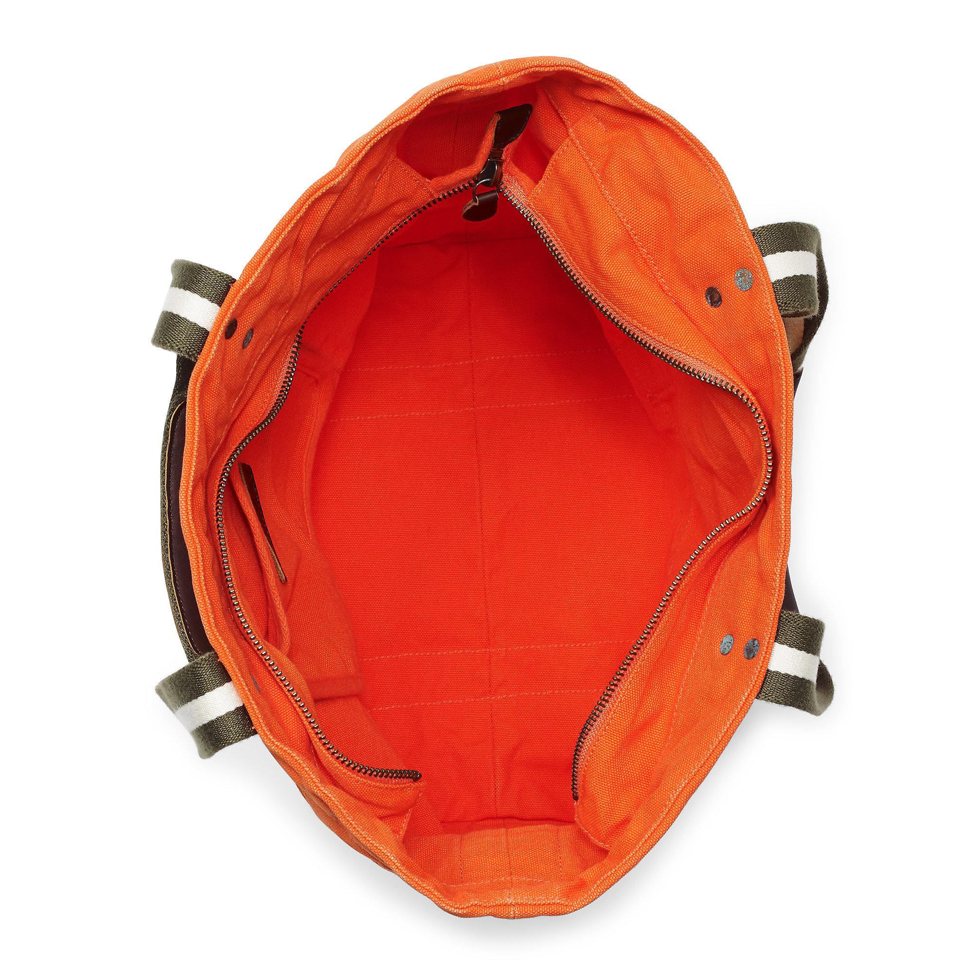 Ralph Lauren Pony Slim Handbag Red Canvas - Jaimonvoyage.com 37d6a0e20dc5f