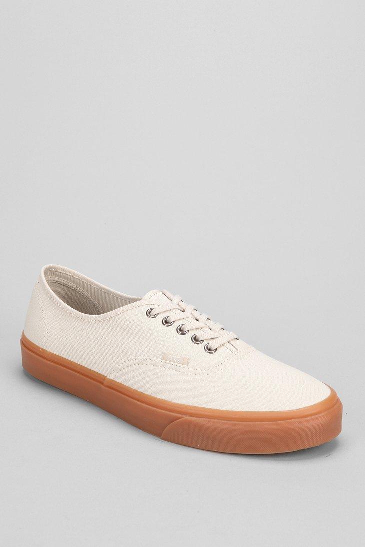 3171e2d04fb Lyst - Vans Authentic Gum-Sole Sneaker in Natural for Men