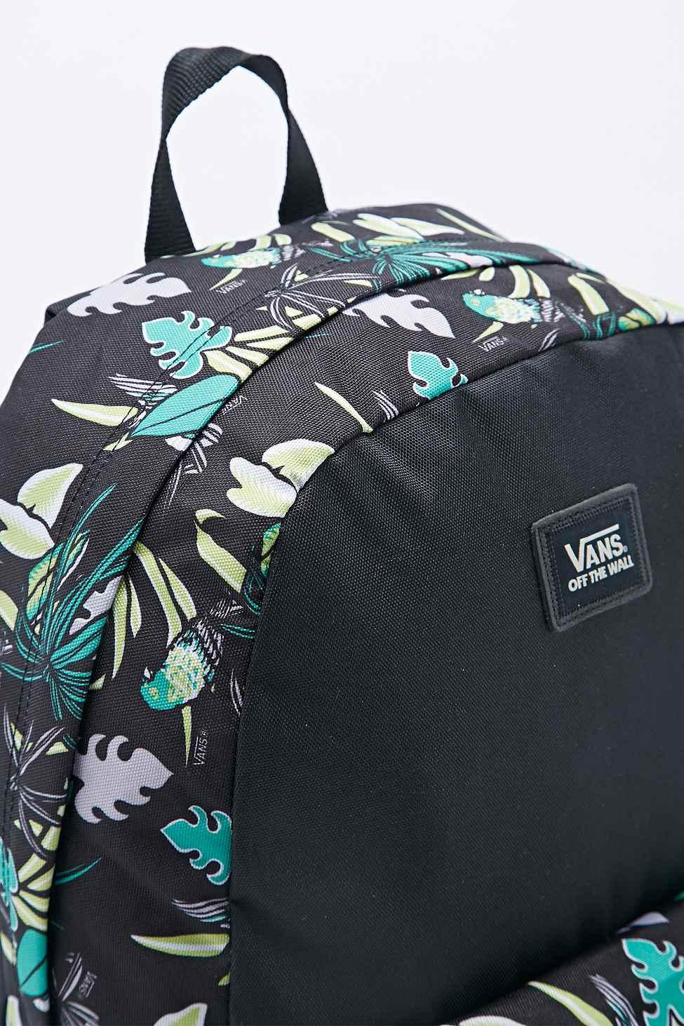 Vans Old Skool Tropical Backpack In Black in Black - Lyst