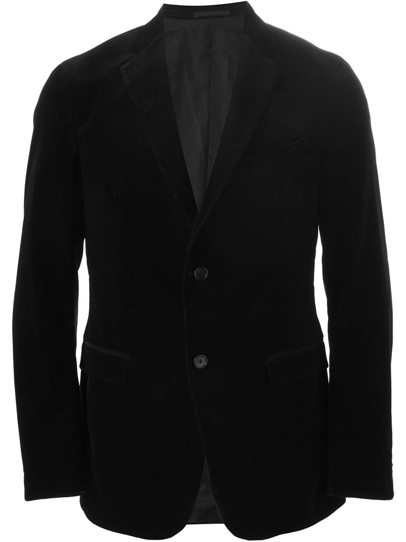 Lyst - Z Zegna Casual Blazer in Black for Men