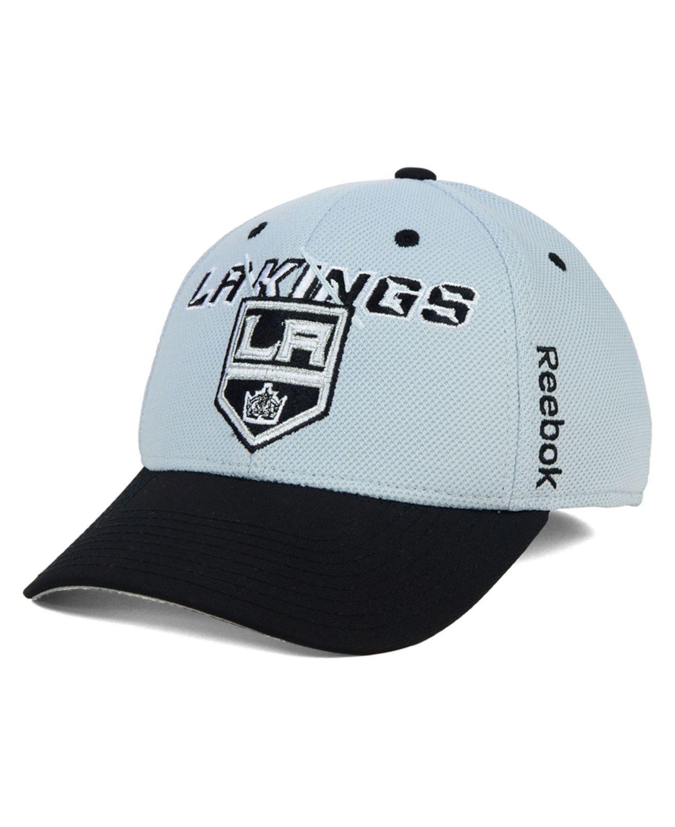 competitive price b95e2 1d3ba Lyst - Reebok Los Angeles Kings 2nd Season Flex Cap in Gray for Men
