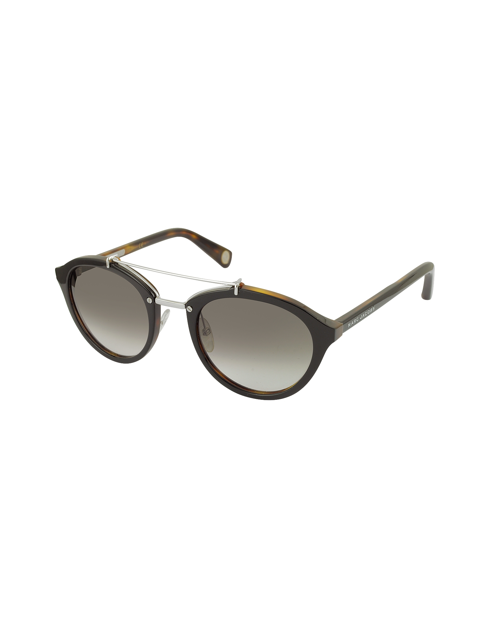 0a8727b03811 Lyst - Marc Jacobs Mj 471 s Acetate And Silver Metal Round ...