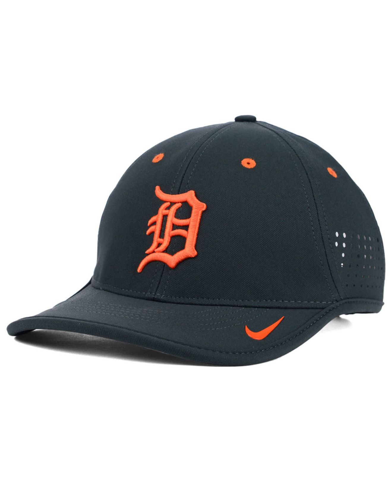 brand new 2c2f4 1e205 ... coupon for reduced lyst nike detroit tigers vapor swoosh adjustable cap  in gray for men 89309