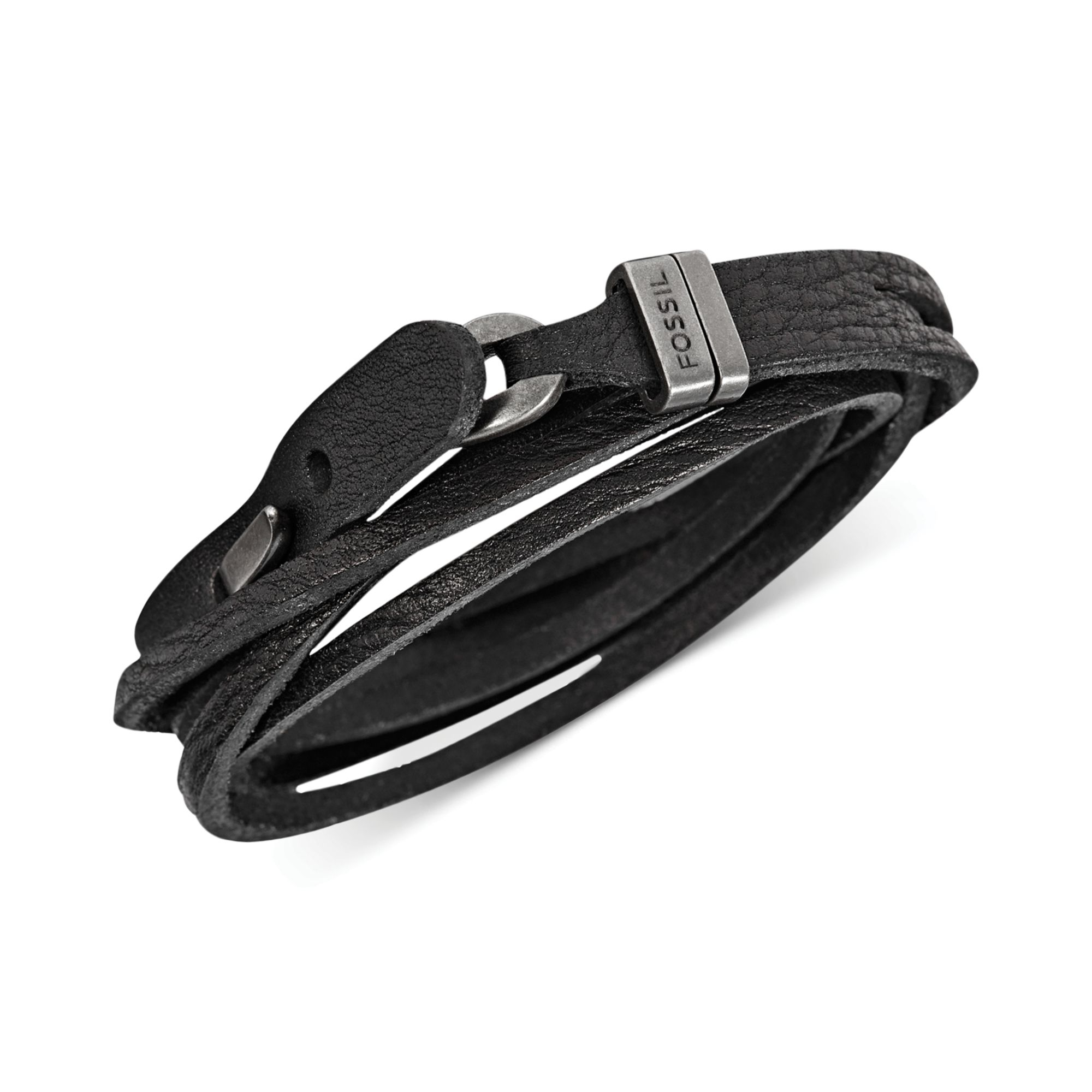 black armani bracelet emporio jewel leather enlarge click to the hut mens