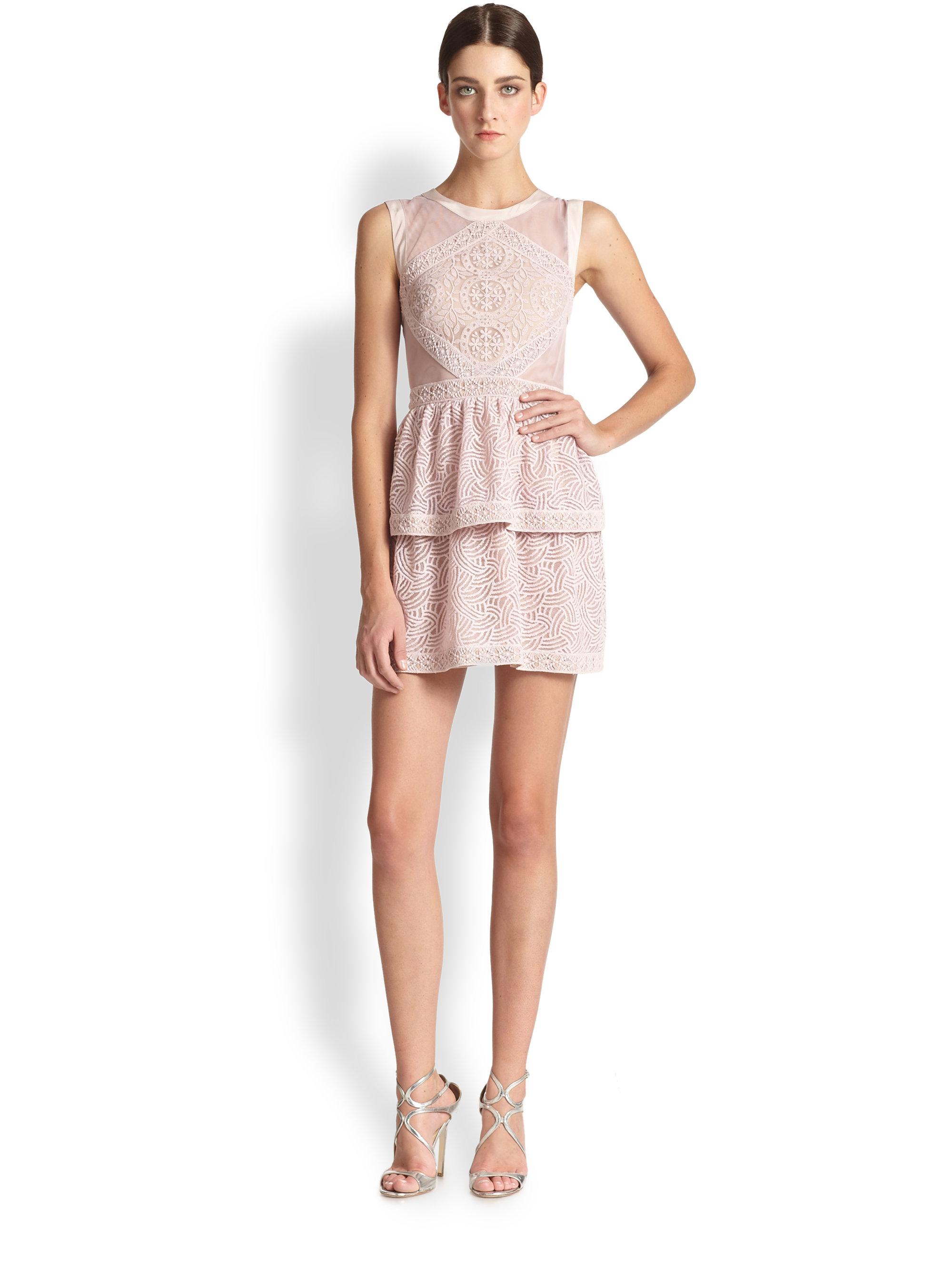 Bcbg purple lace dress – Dress ideas