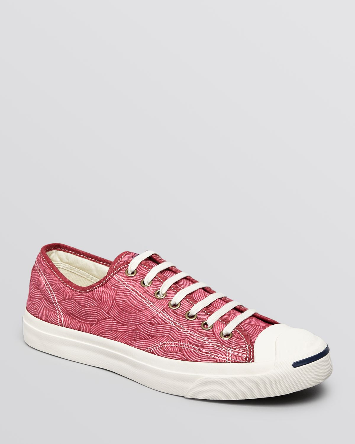 9abbd171a846 Lyst - Converse Jack Purcell Multi Pattern Sneakers in Pink for Men