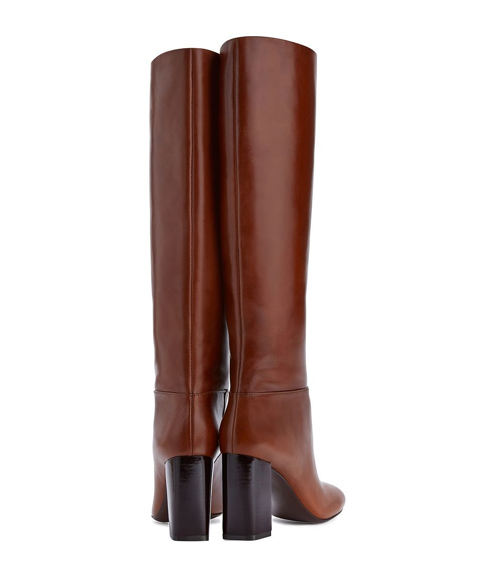 59413bc347ee6 Lyst - Tory Burch Devon Tall Boot in Brown