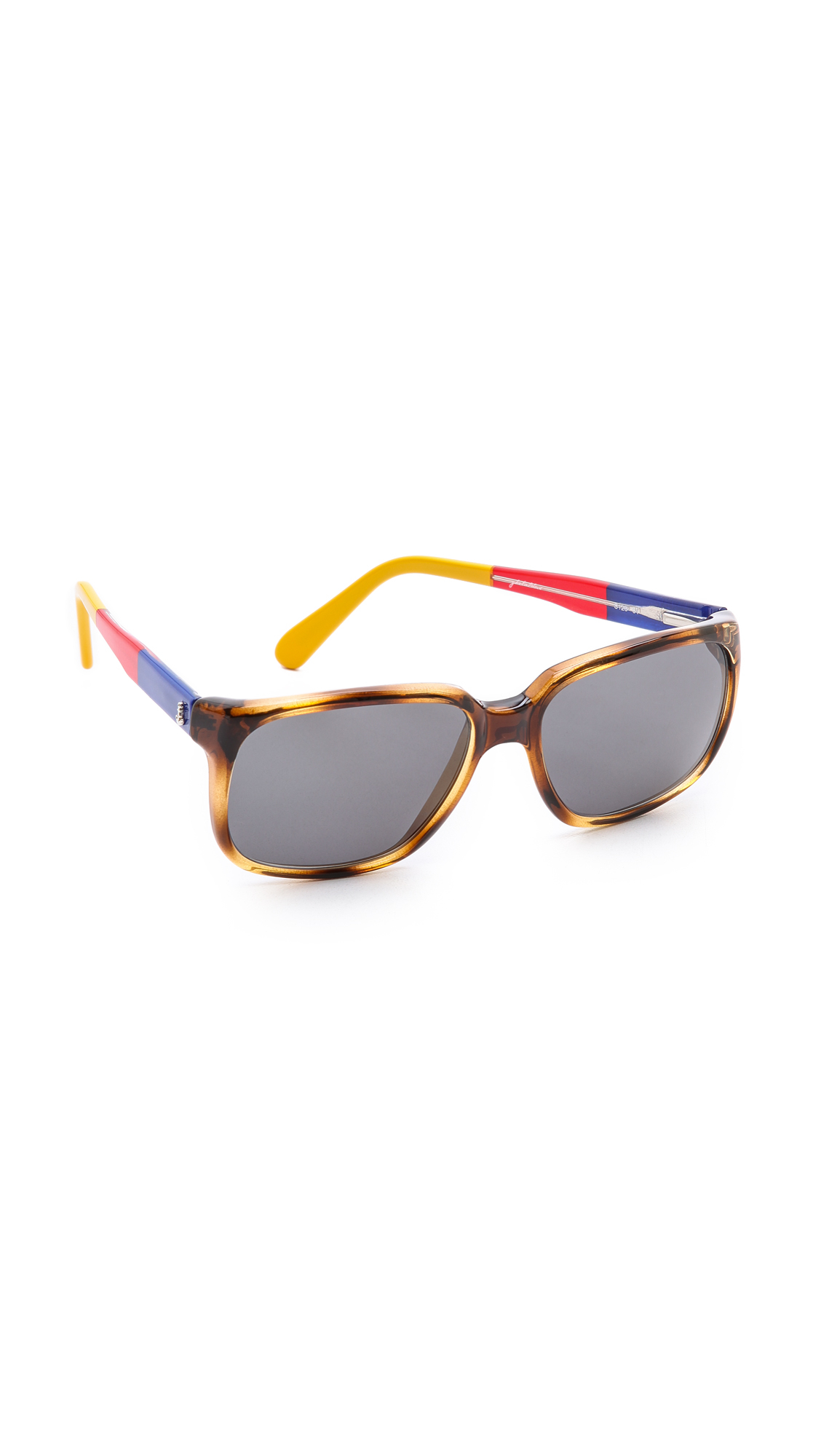 sheriff u0026 cherry m126 turtle sunglasses lyst