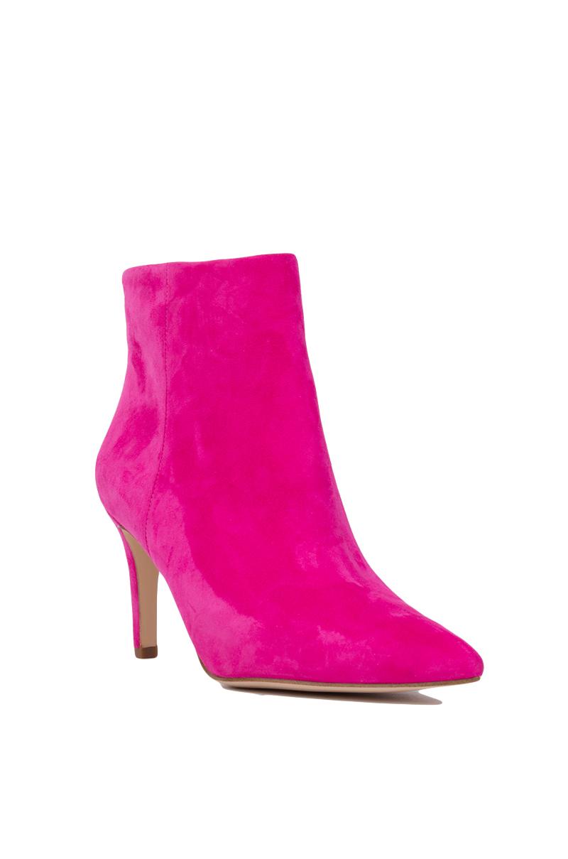 0d7b9c7dc Lyst - Sam Edelman Karen Pointed Toe Booties - Pink Suede in Pink