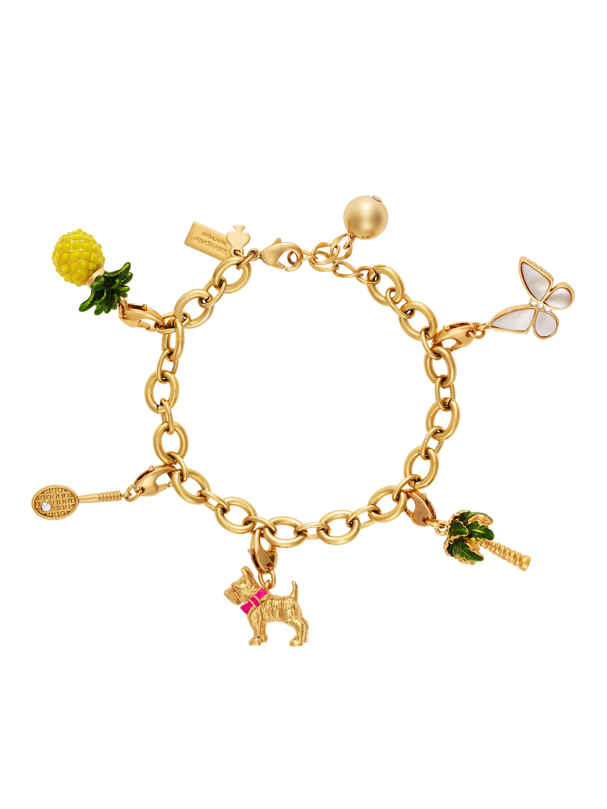 on sideways luulla bracelets charm original in product pendant bracelet cross bangles gold