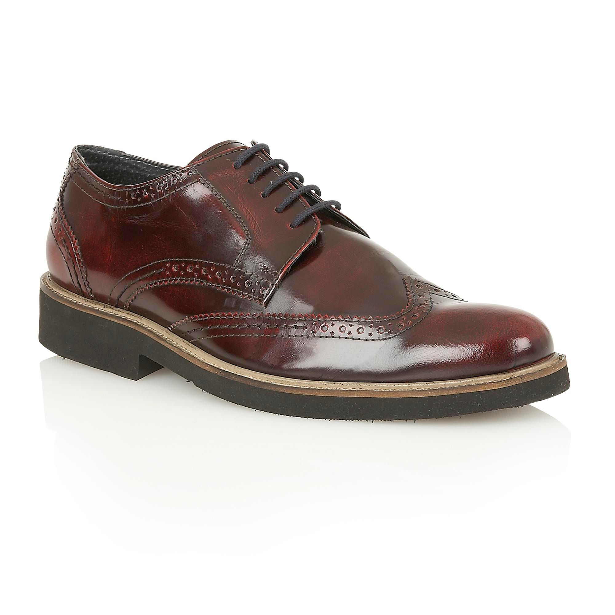 Cos Leather Lace Up Shoes