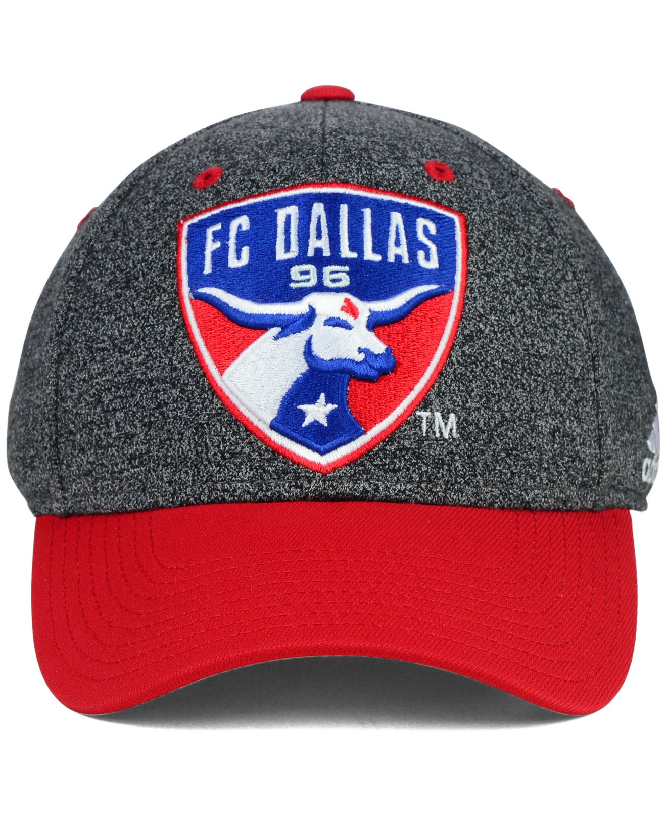 0d384634712f4 ... mls team performance structured adjustable hat 1b239 3f39c  usa lyst  adidas fc dallas two touch cap in gray for men 42e47 3dbb7
