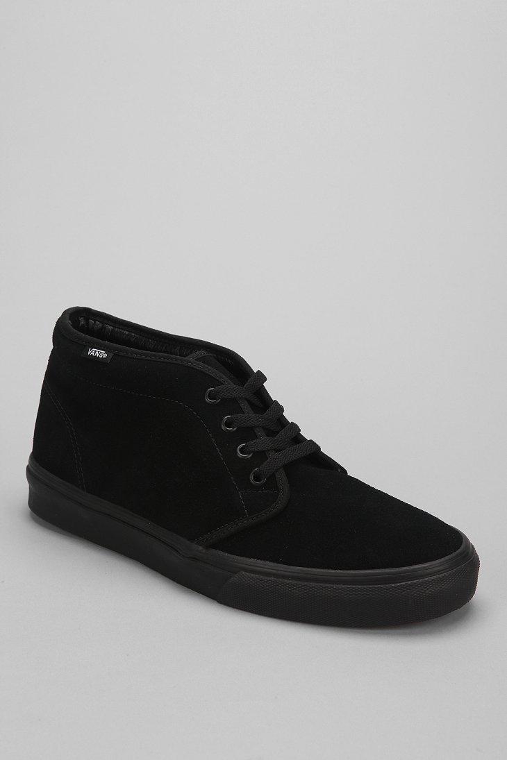 9ee06eb712 Lyst - Vans Suede Chukka Boot in Black for Men