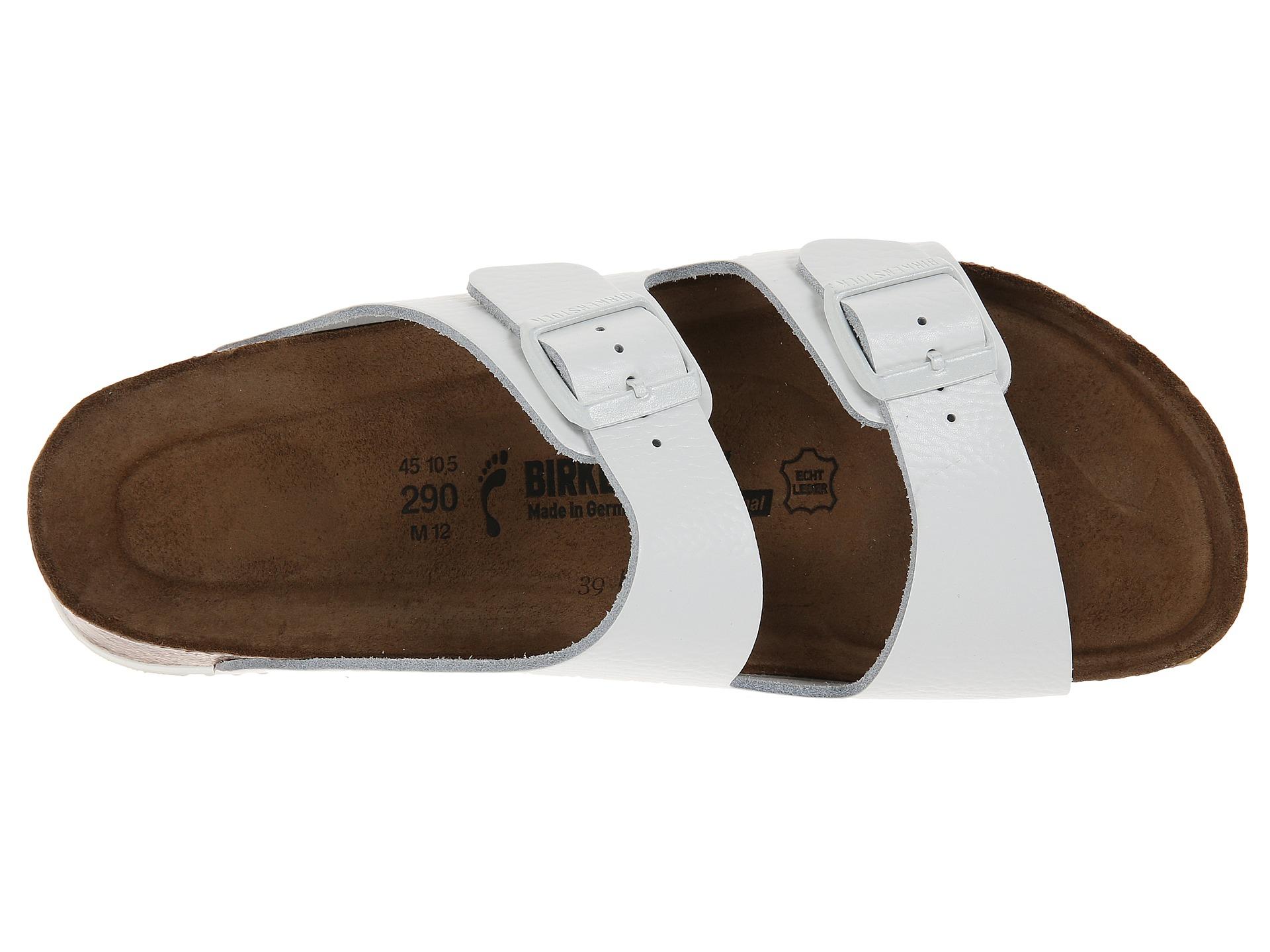 Lyst Birkenstock Arizona Soft Footbed Super Grip In White