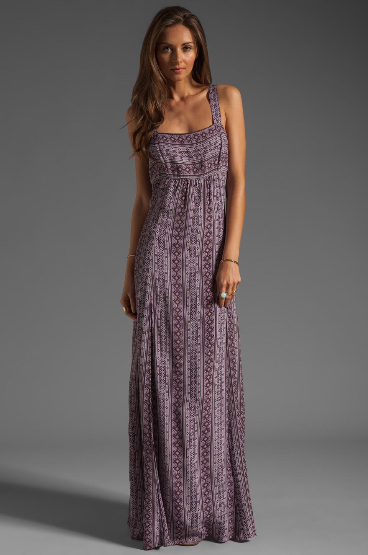 Flynn skye Tie Back Dress Maxi Dress in Purple - Lyst