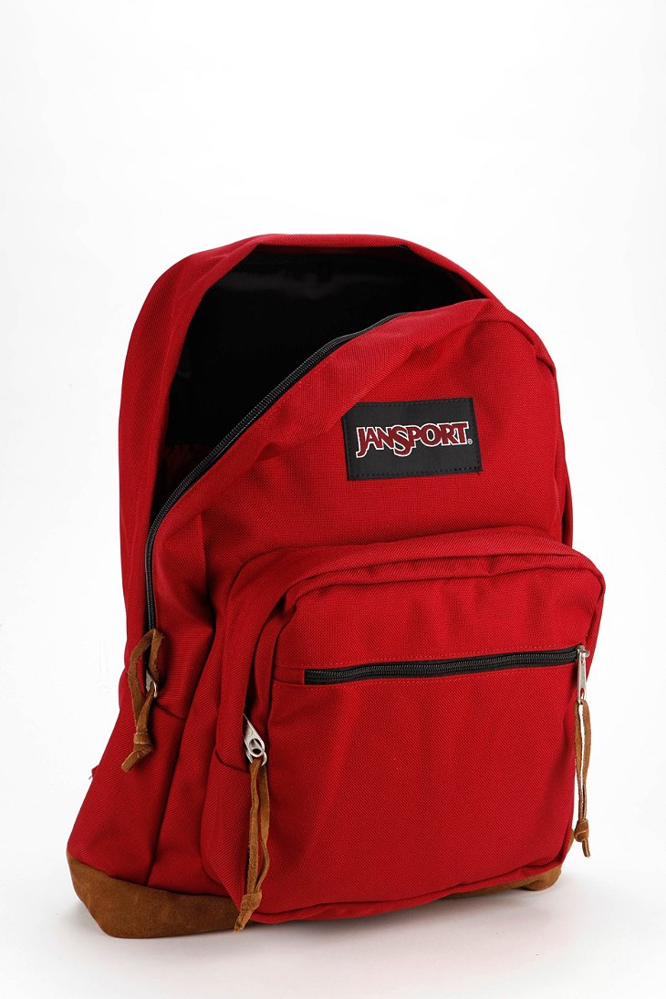 Jansport Right Pack Backpack in Red | Lyst