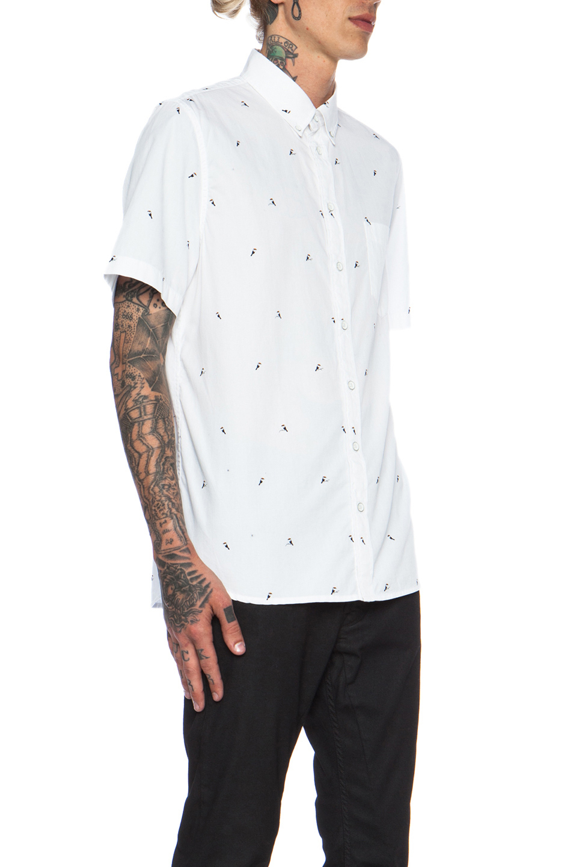 Lyst Rag Bone Button Down Cotton Oxford In White
