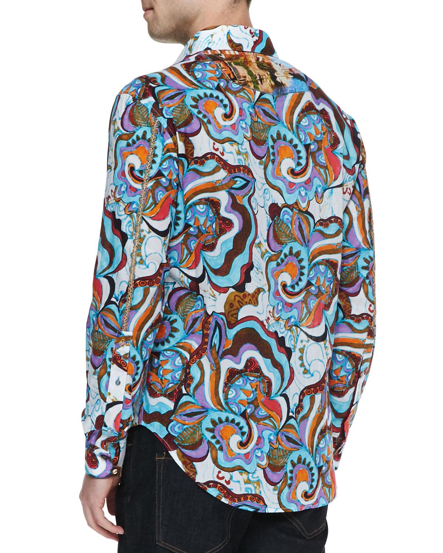 lyst robert graham limited edition jimbo sport shirt in