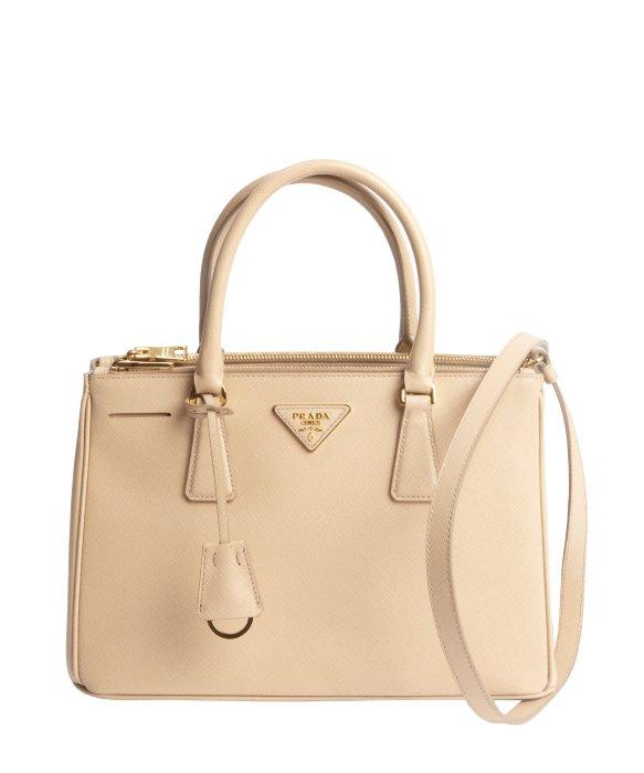 prada lux saffiano leather shoulder handbag