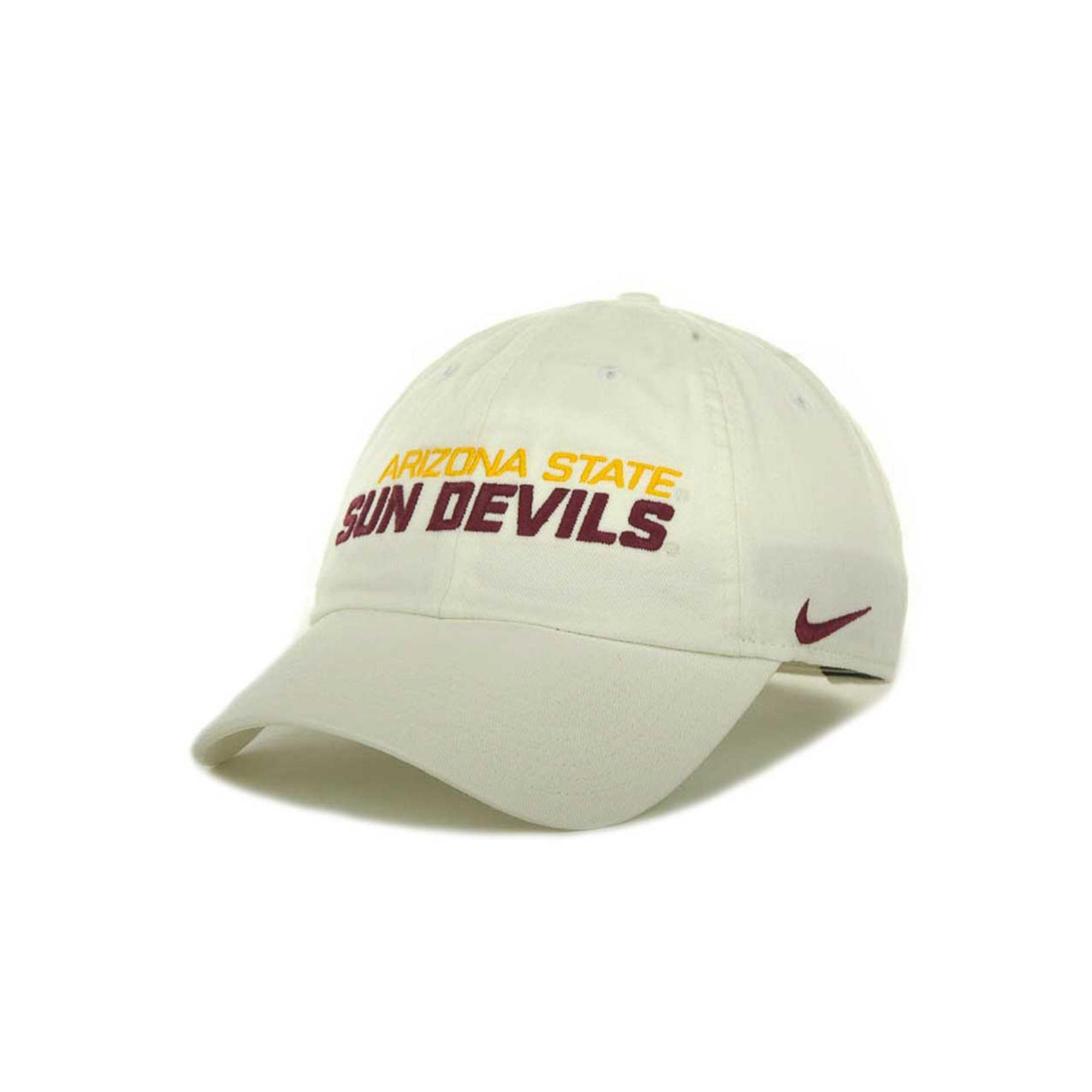 d94b1738d38 Lyst - Nike Arizona State Sun Devils Heritage 86 Campus Cap in White ...