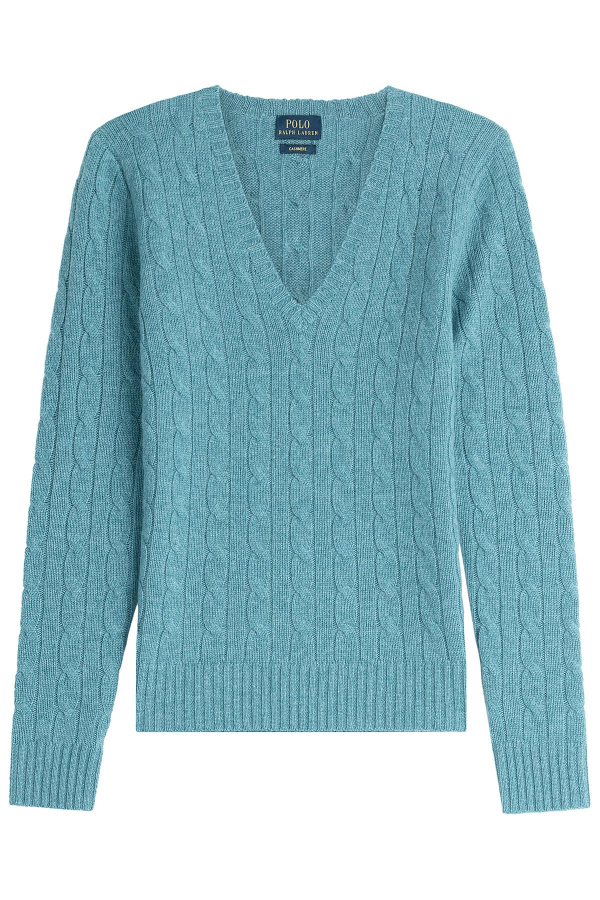 polo ralph lauren cashmere pullover turquoise in blue lyst. Black Bedroom Furniture Sets. Home Design Ideas