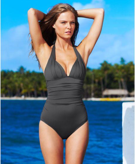 Apologise, Dkny swimwear black bikini cover tie