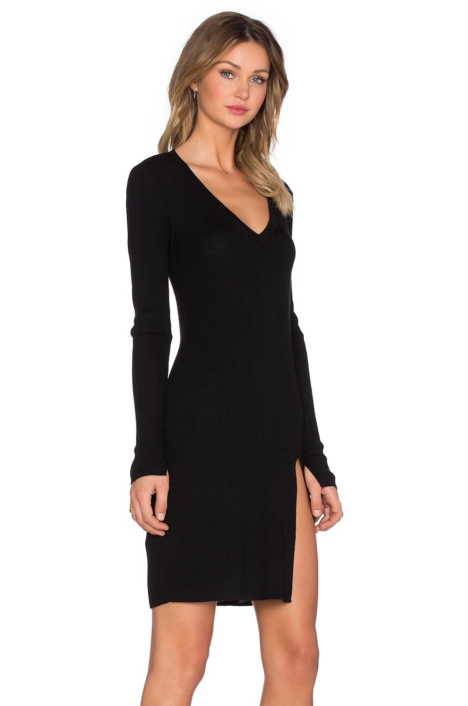BCBG Max Azria Black Sweater Dresse