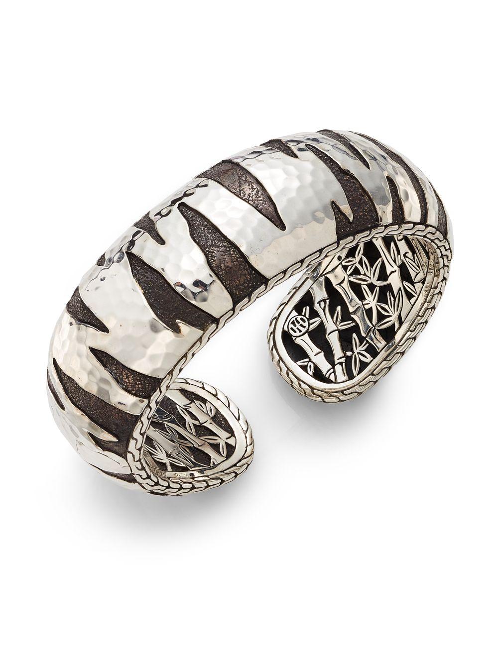 John Hardy Palu Macan Sterling Silver Kick Cuff Bracelet