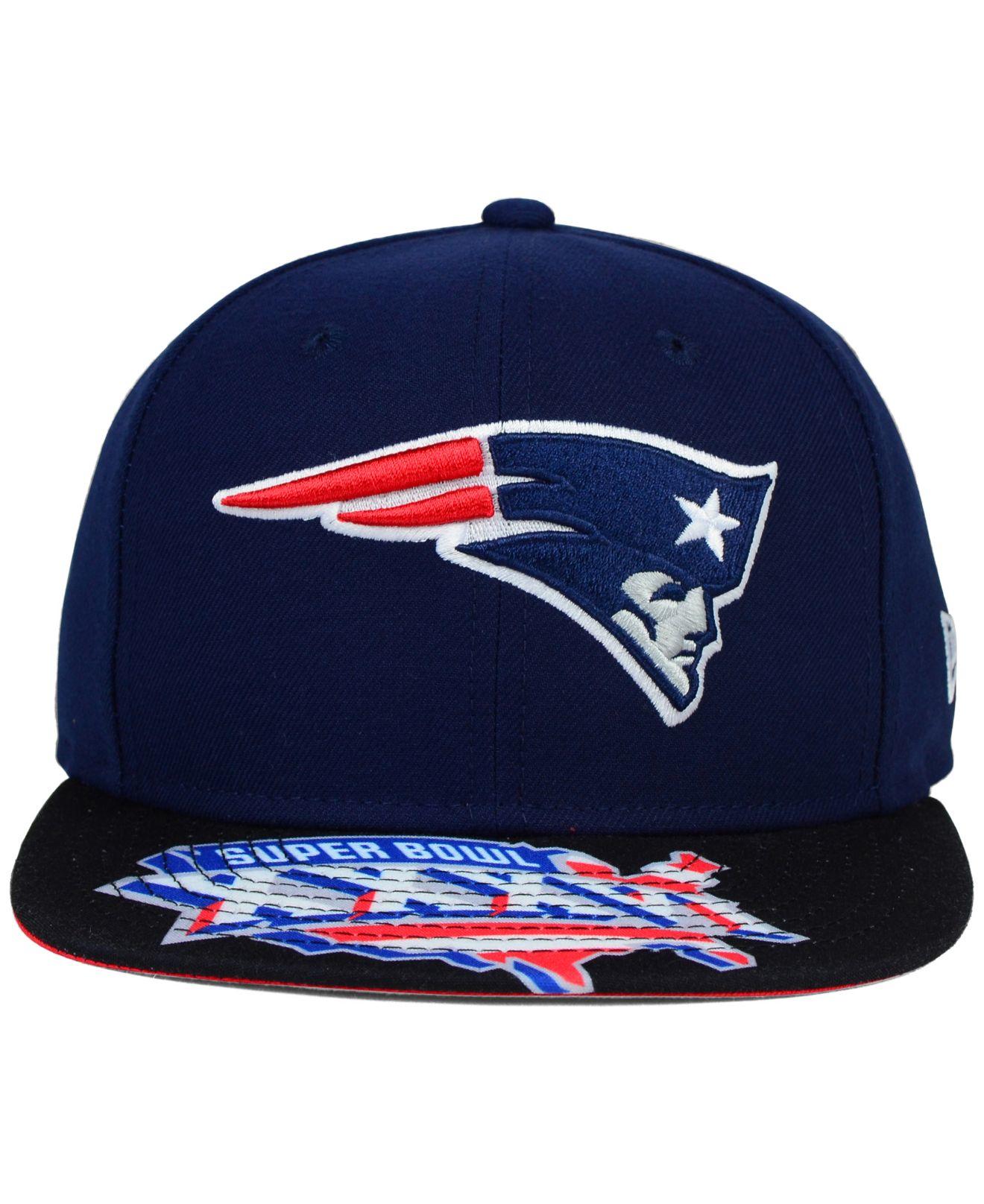 1facafb7388 Lyst - Ktz New England Patriots Super Bowl 50 Jumbo Vize 9fifty ...