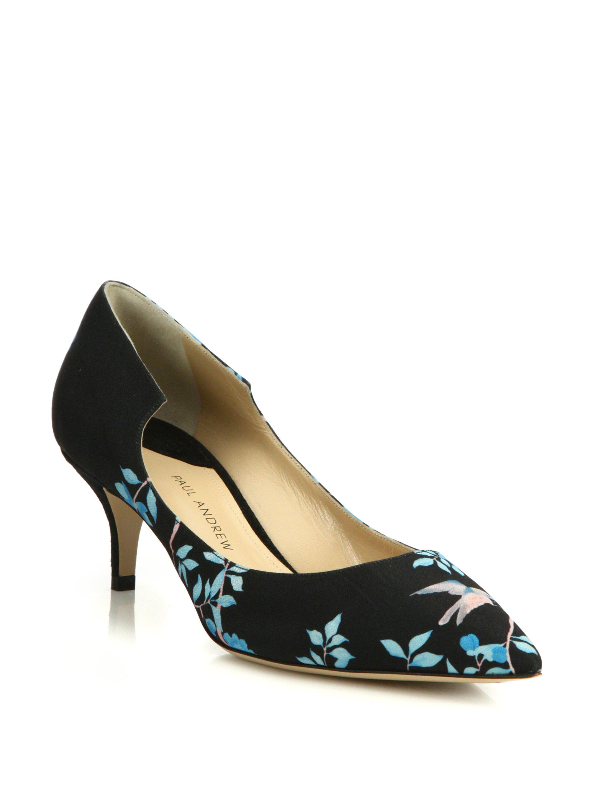 Paul Andrew Printed Suede Pumps with mastercard cheap online 9dxyW