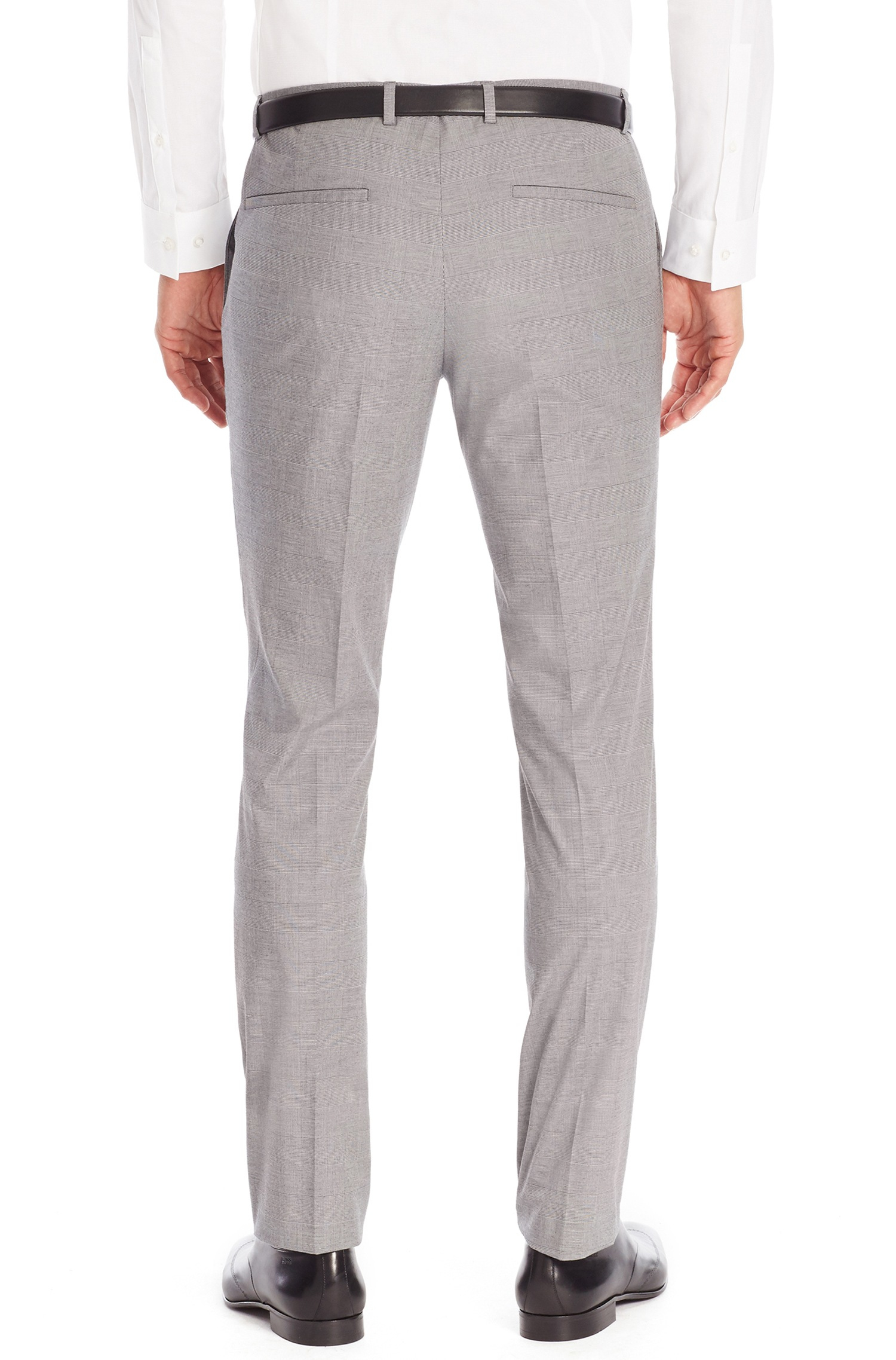 Extra-slim-fit trousers in stretch cotton HUGO BOSS 78JqZbdhV