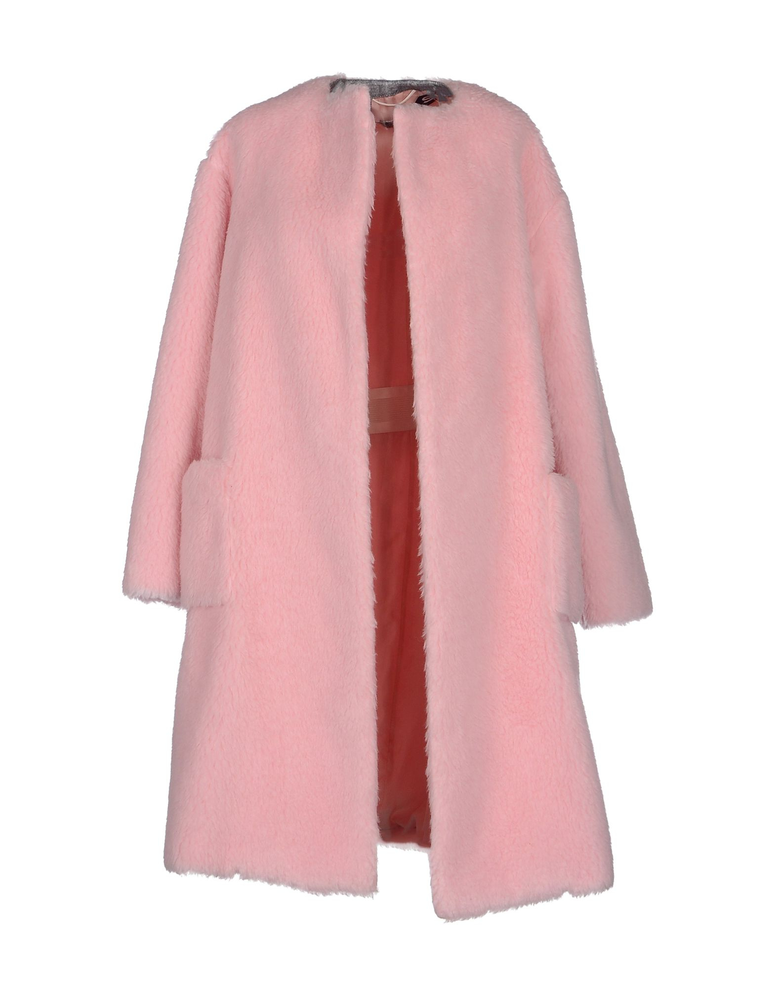 Rochas Coat in Pink   Lyst