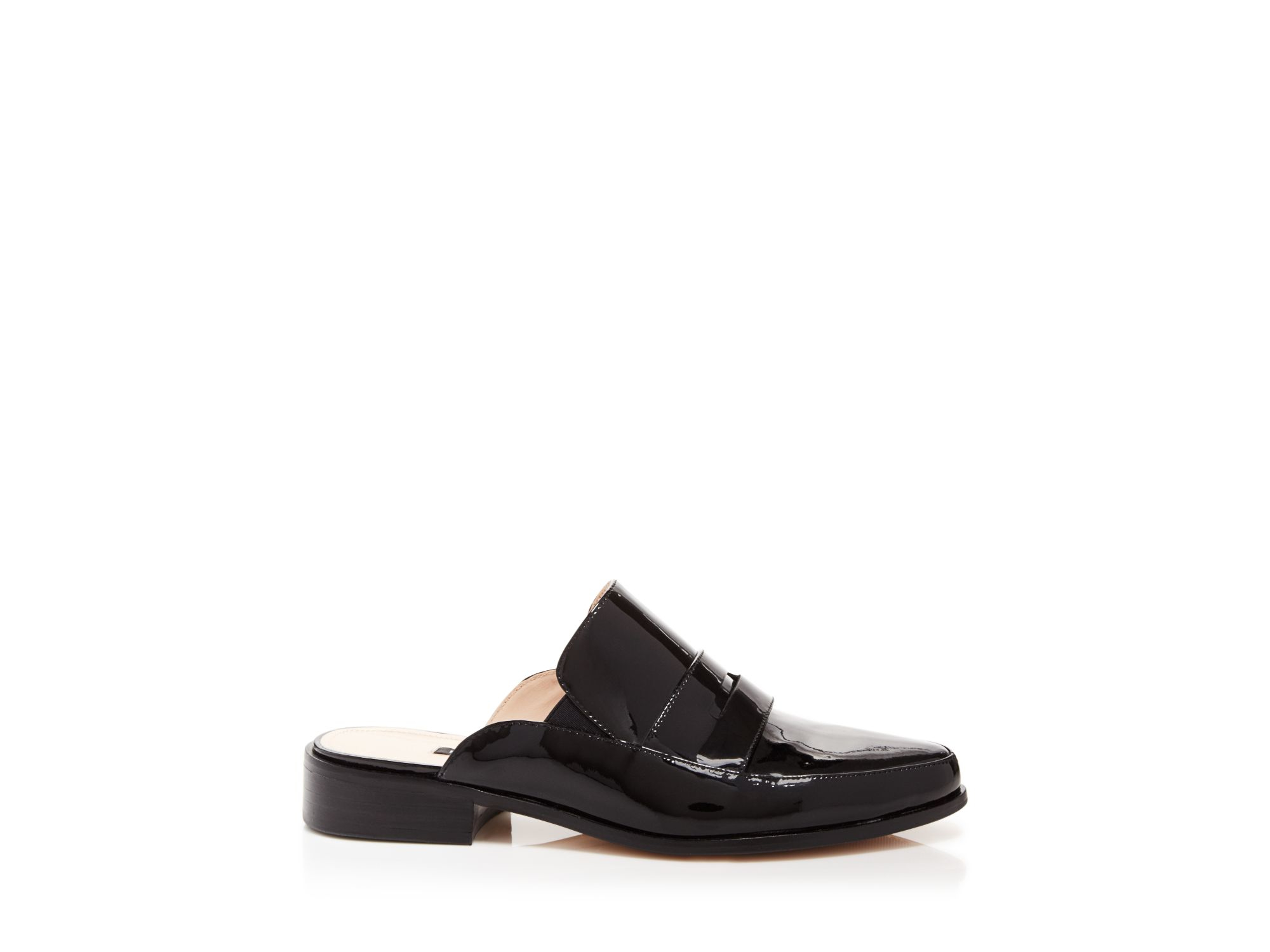 Lyst French Connection Flat Slide Mule Loafers Louis