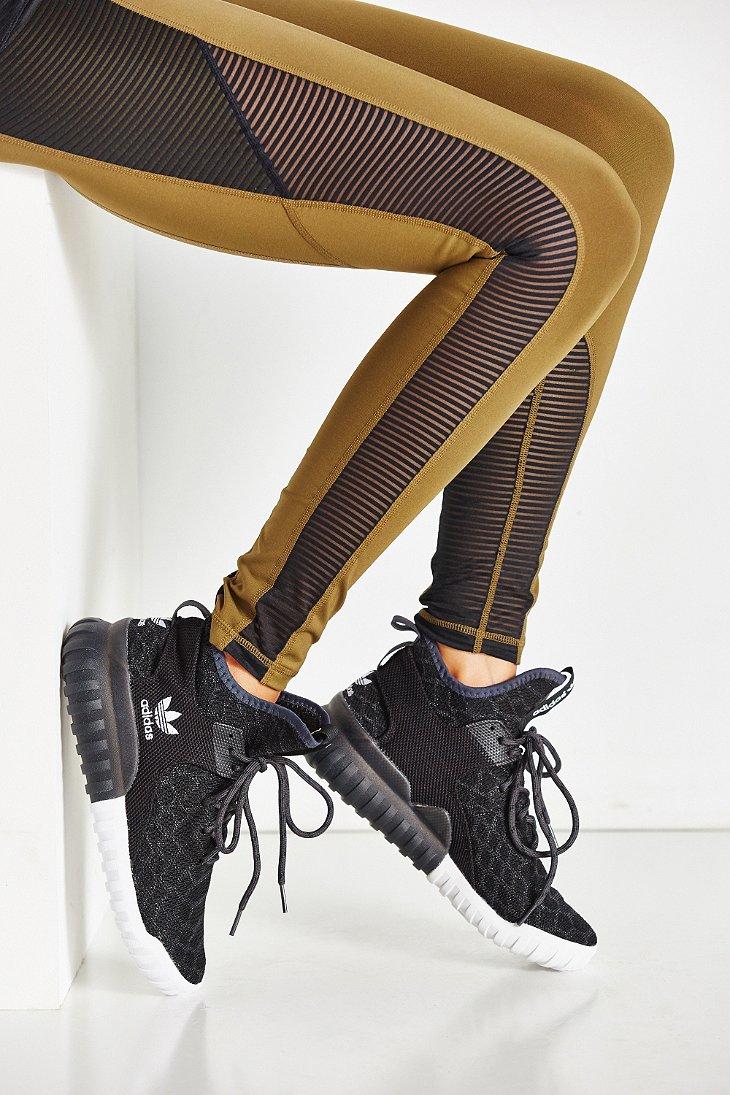 Lyst - adidas Tubular X Primeknit Sneaker in Black 852c17ec4f