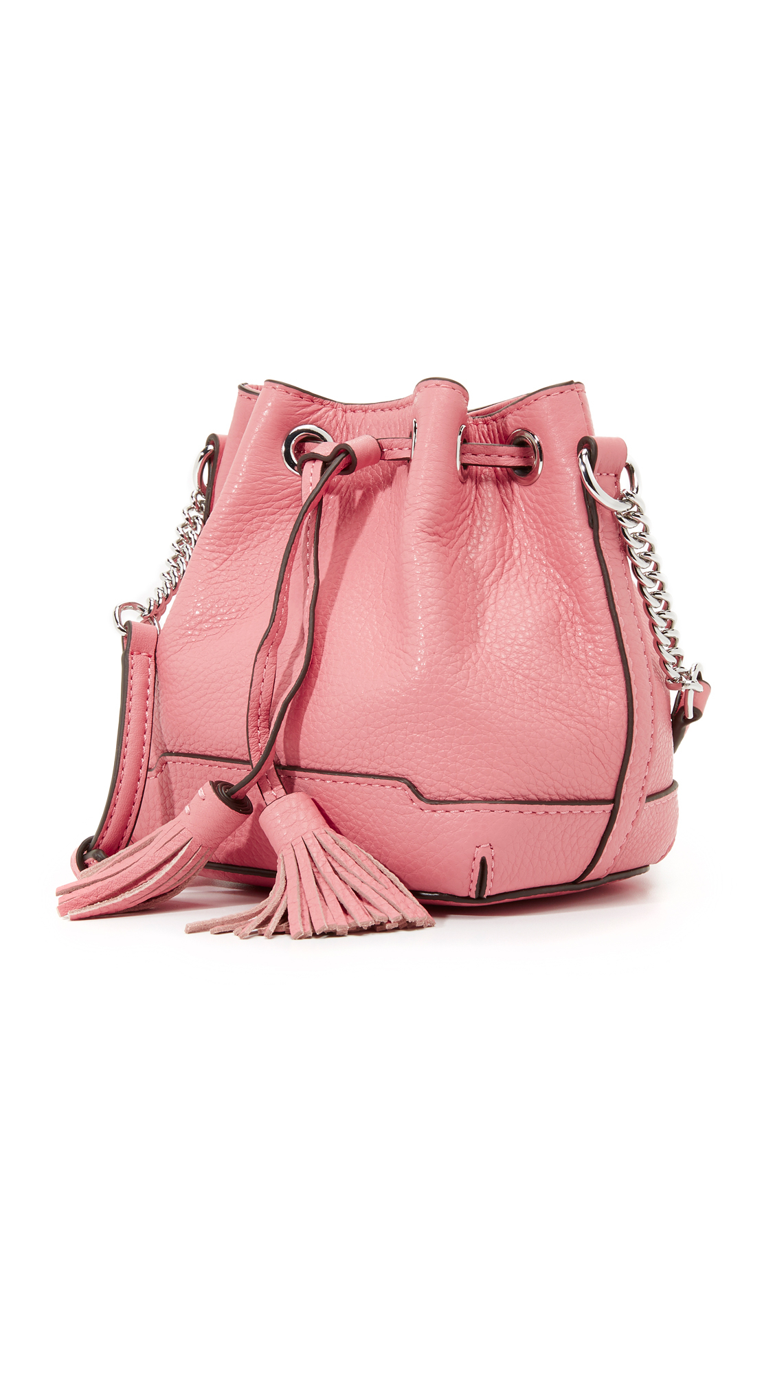 Rebecca Minkoff red mini Mac crossbody bag - There are some discoloration on the back (see the pic). A little wear out on the bottom. The inside is very clean. Go with a dust bag.