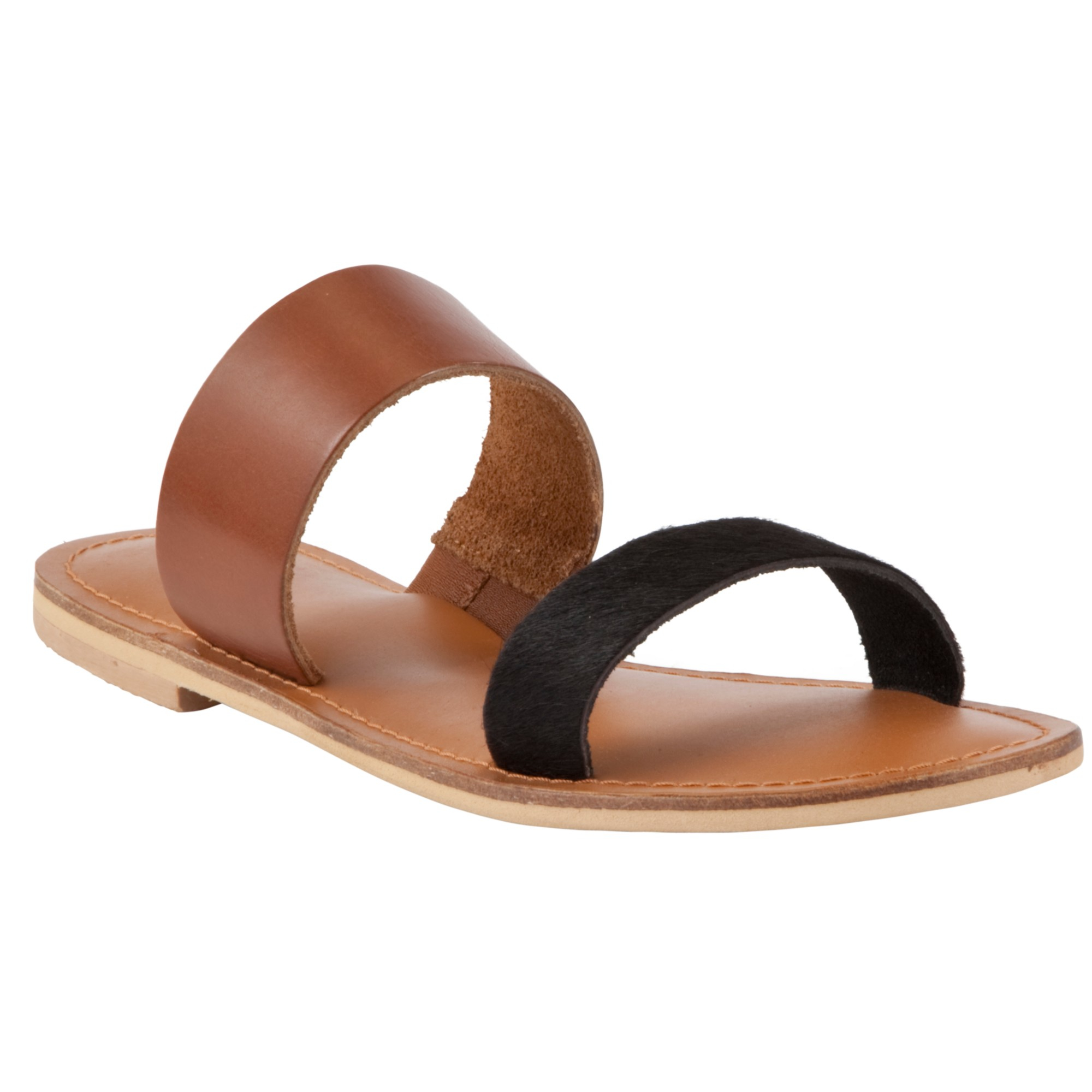 John Lewis Collection Weekend By Jersey Two Strap Sandals