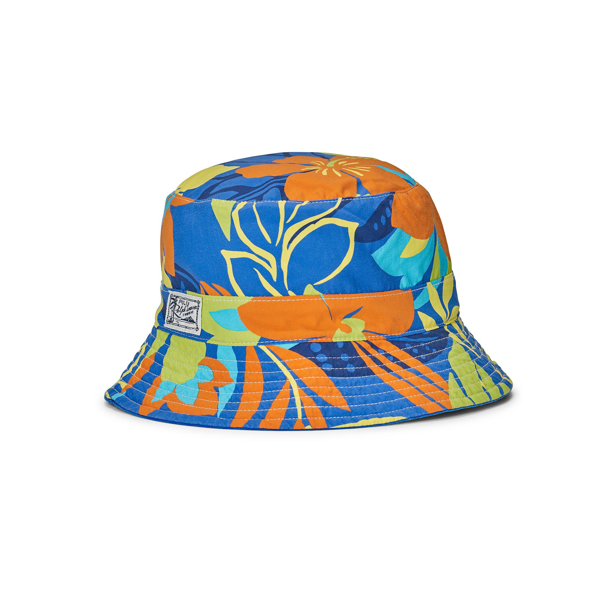 Lyst - Polo Ralph Lauren Reversible Twill Bucket Hat for Men 234d472e047b