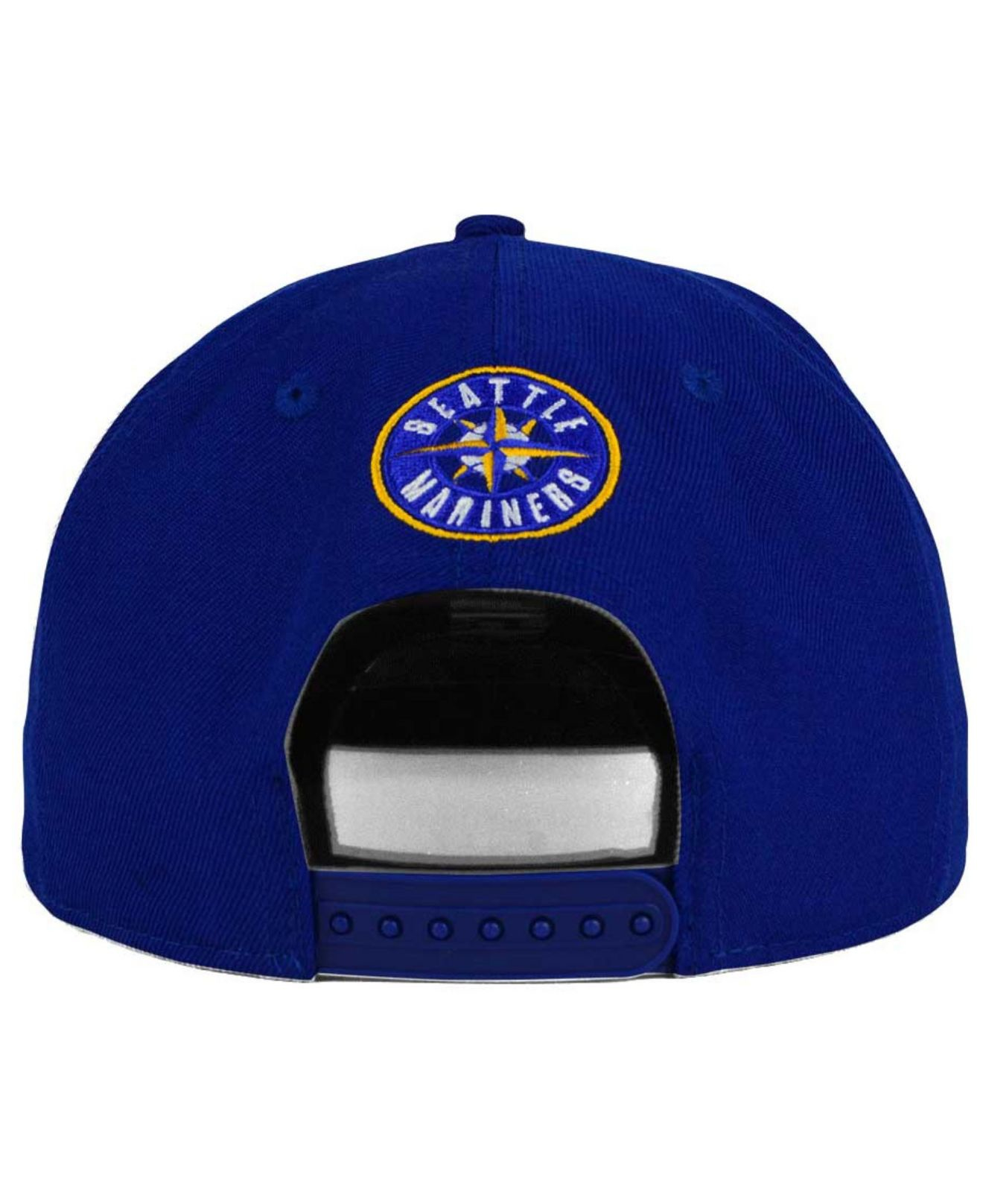 8597ee5f942 ... australia lyst ktz seattle mariners team reflect 9fifty snapback cap in  blue 3a3ad ba166