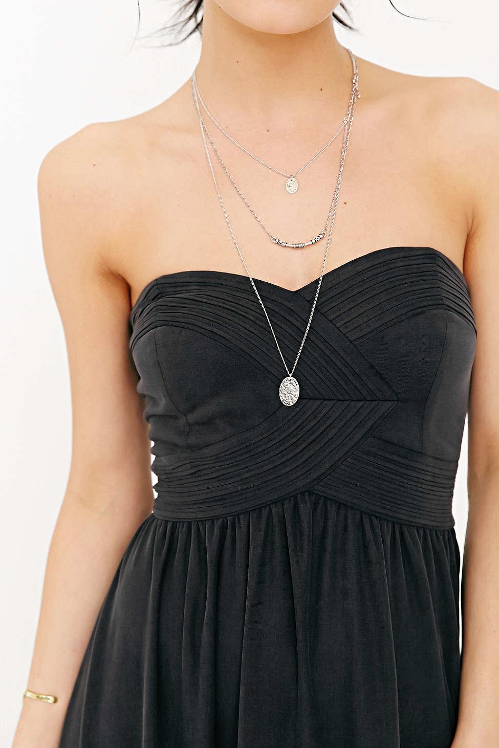 1d84a216aa4b9 Kimchi Blue Gretchen Strapless Maxi Dress in Black - Lyst