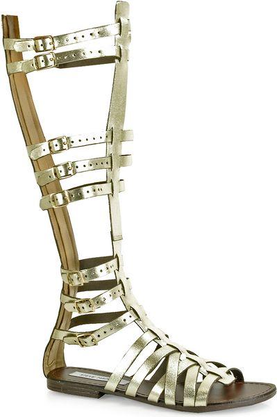 aa411a8fcdd Men's Tall Gold Gladiator Sandals | Gold Gladiator Sandals