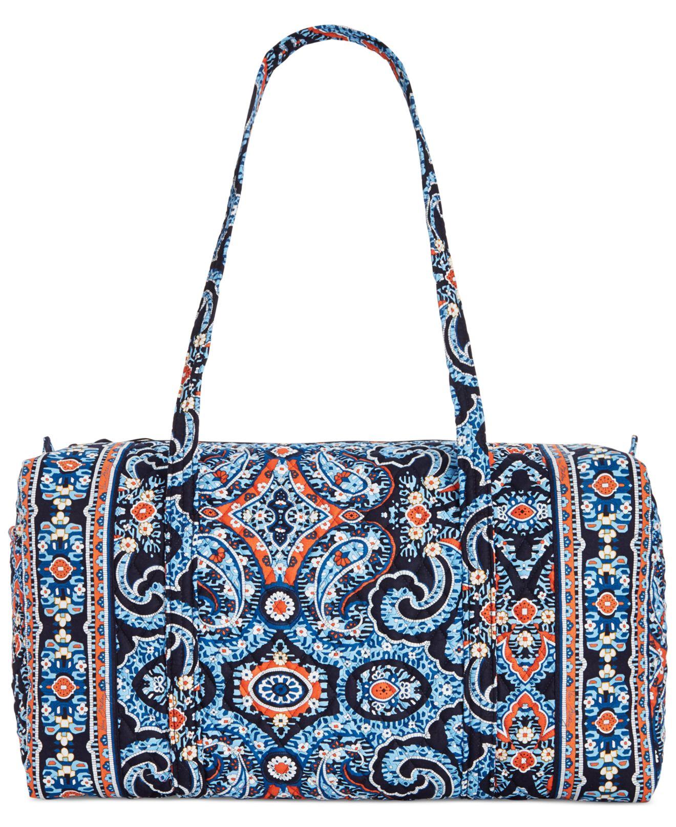 9cfee0798f27 Lyst - Vera Bradley Large Duffle Bag