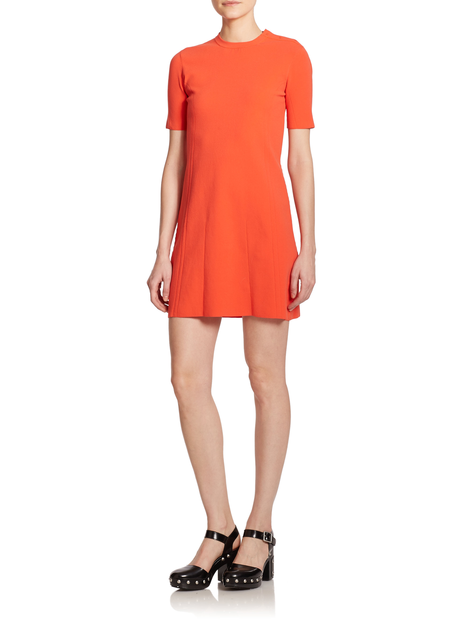 Outlet How Much Marc by Marc Jacobs Scoop Neck Mini Dress Outlet Supply Get To Buy Online ULacbvx3j
